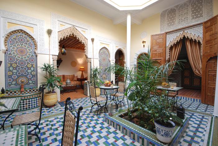 Riad Rabat Maroc Dar Zouhour Hotel Rabat Riad