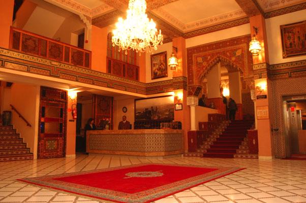 Hotel ametis nouzha fes maroc for Hotel fes piscine