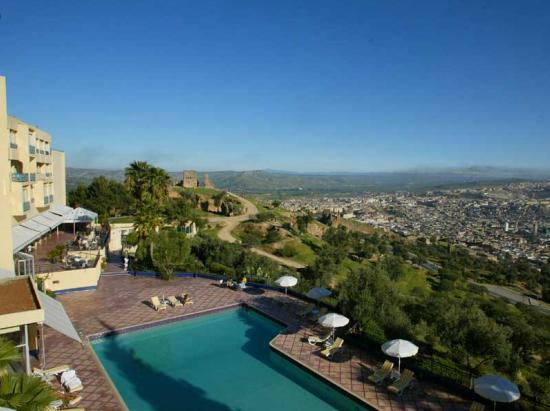 Les m rinides fes maroc for Hotel fes piscine