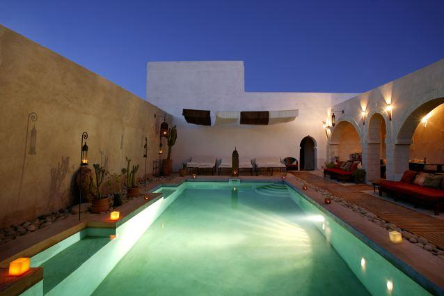 Riad les mille une nuits essaouira maroc for Riad essaouira avec piscine