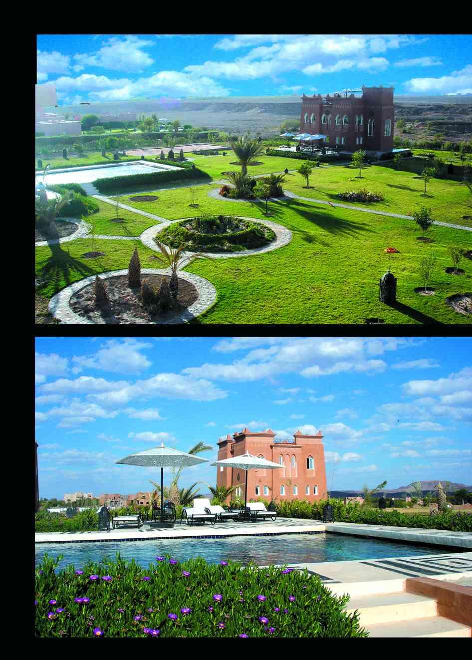 Hotel Ouarzazate Riad Ouarzazate 3 15225307102008 Jardins